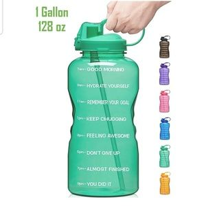 1 gallon MOTIVATION water bottle